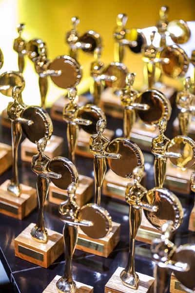 trofee Golden Drum Awards
