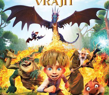 Simona Pătruleasa, Dorin Chioțea și Anca Serea, personaje în desenul animat Dragonul Vrăjit
