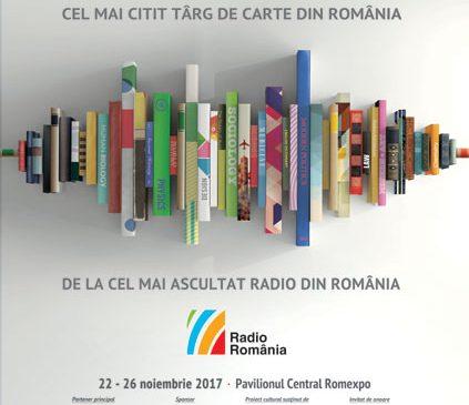Radio România vă invită la GAUDEAMUS 2017! 22 – 26 noiembrie, Pavilionul Central Romexpo