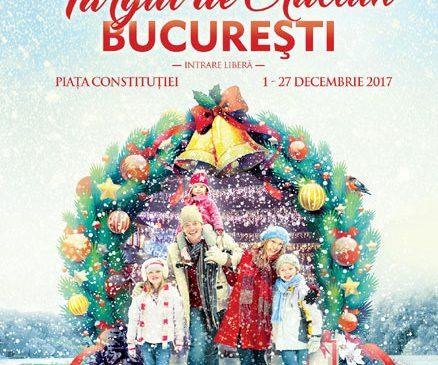 Pe 1 Decembrie se deschide Târgul de Crăciun București