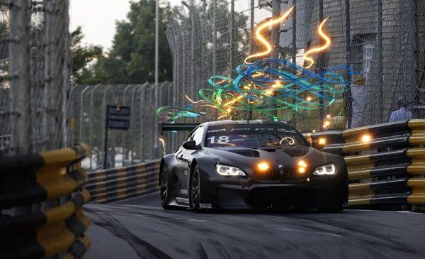 BMW Art Car #18 a făcut spectacol pilotată de Augusto Farfus în Cupa Mondială FIA GT Macao