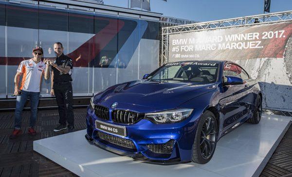 A cincea victorie pentru Marc Márquez: pilotul spaniol din MotoGPTM continuă seria de succese în BMW M Award