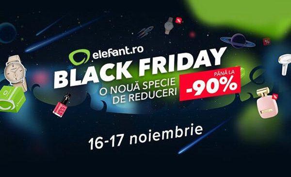 elefant.ro dă startul Black Friday pe 16 noiembrie