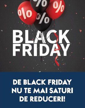 Black Friday vine pe 17 noiembrie cu reduceri fulger la Mega Mall
