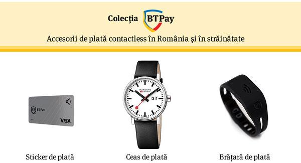 Banca Transilvania lansează, în premieră în România, Stickerul BT Pay