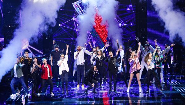 16 concurenți au strălucit aseară pe scena Vocea României, însă numai opt merg în cel de-al treilea live