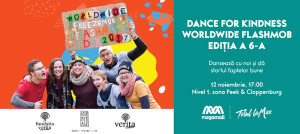Mega Mall te invită să dansezi în cinstea faptelor bune