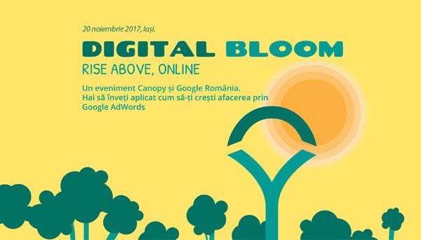 Canopy aduce la Iași evenimentul de business Digital Bloom