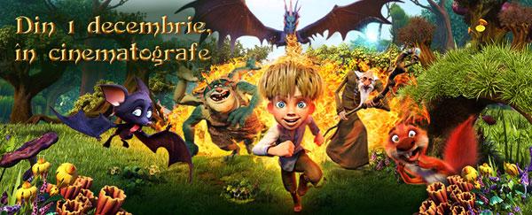 """De 1 Decembrie, """"Dragonul Vrăjit"""" reunește familiile la cinema"""