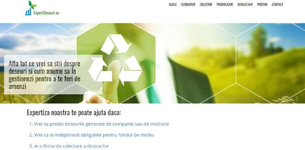 S-a lansat ExpertDeseuri.ro – platformă online de raportare a deşeurilor