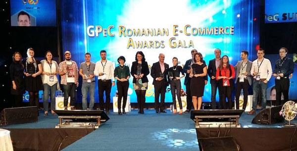 Câștigătorii Galei Premiilor eCommerce, răsplătiți pentru performanță în Comerțul Electronic Românesc