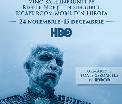 HBO continuă turneul primului Escape Room Mobil Game of Thrones din Europa – din 24 noiembrie la Shopping City Galați