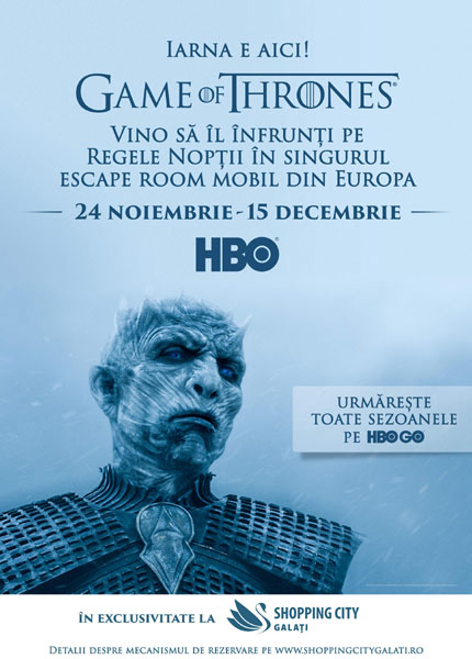 Game of Thrones, Shopping City Galati