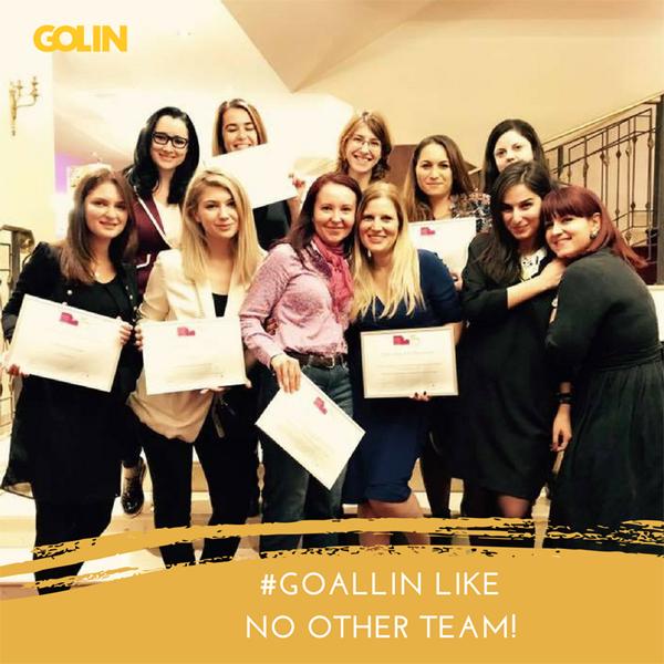 Golin la Romanian PR Award