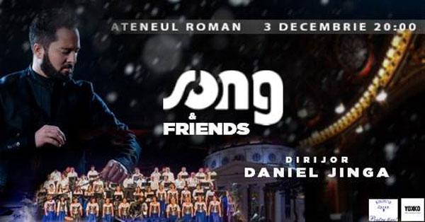 Grupul Coral SONG & Friends te invita la concert