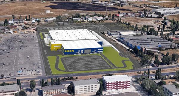 Construcția celui de-al doilea magazin IKEA din România a început oficial