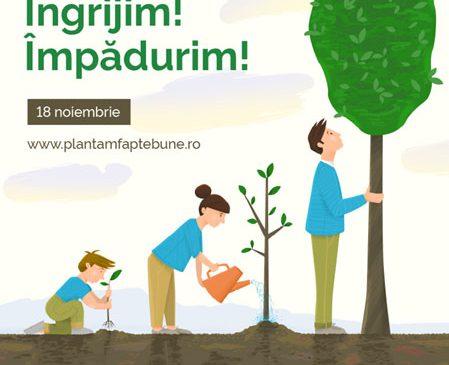 18 noiembrie – O zi despre păduri şi voluntariat