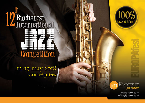 JAZZ competition 2018 poster EUROPAfest
