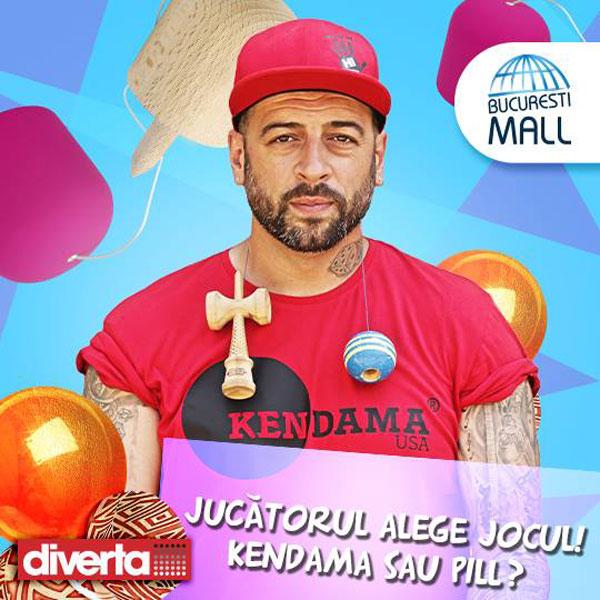 KV Kendama si Pill la Bucuresti Mall