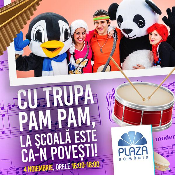 KV Spectacol PAM PAM la Plaza Romania