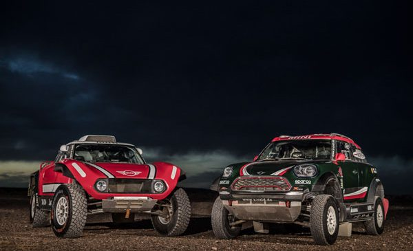 Dakar Rally 2018: echipa X-raid va concura cu MINI John Cooper Works Rally şi MINI John Cooper Works Buggy