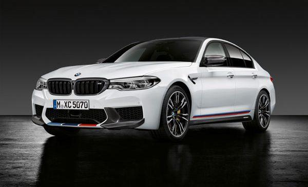 Accesorii originale BMW M Perfromance pentru BMW M5 – performanţe crescute, design extrovertit