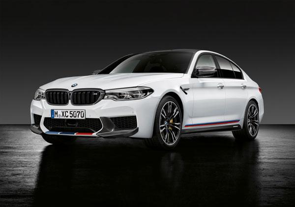 Noul BMW M5 cu accesorii originale BMW M Performance