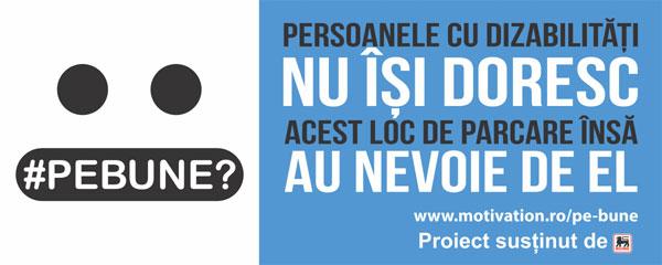 "Fundația Motivation România lansează campania ""#PEBUNE?"""