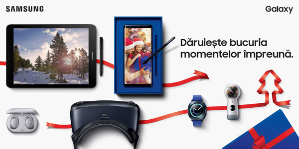 Samsung, Daruieste bucuria momentelor impreuna KV