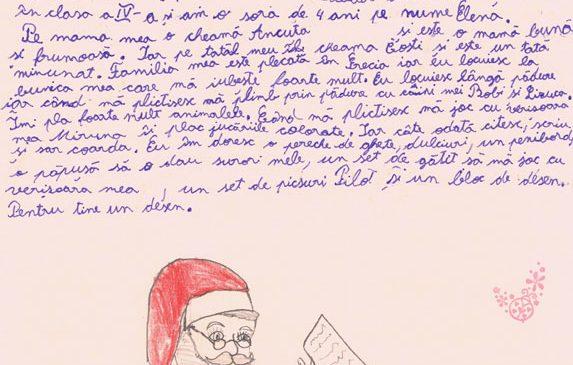 1.000 de copii din 26 de comunități defavorizate din întreaga țară i-au trimis scrisori lui Moș Crăciun prin Fundația Vodafone România
