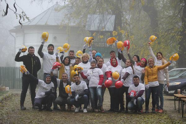 Teambuilding pe santier, Centrul Comunitar Buftea