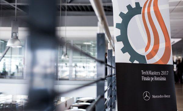 Mercedes-Benz România a organizat Competiția Națională TechMasters