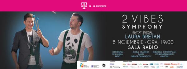 Telekom prezintă concertul 2Vibes Symphony – un spectacol pentru emoții și experiențe noi
