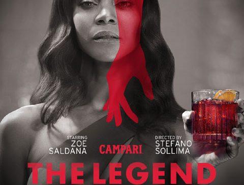 Campari Red Diaries – THE LEGEND OF RED HAND: Zoe Saldana este starul scurtmetrajului regizat de Stefano Sollima