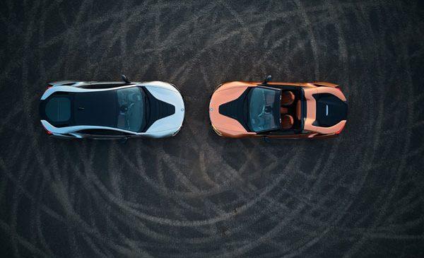 Noile BMW i8 Roadster şi BMW i8 Coupé