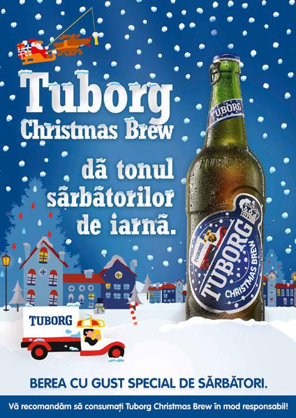 Tuborg Christmas Brew da tonul sarbatorilor de iarna