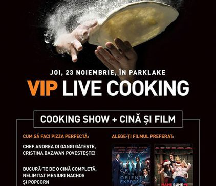 Rețeta unei seri speciale la Cinema City VIP ParkLake