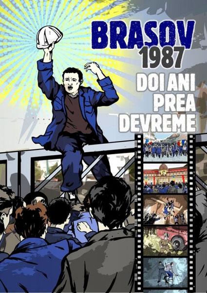afis Brasov 1987 - doi ani prea devreme