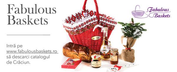Cadourile Fabulous Baskets aduc mai aproape spiritul Crăciunului