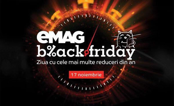 eMAG Black Friday 2017: 2.000.000 de produse în ofertă și reduceri totale de 40 de milioane de euro