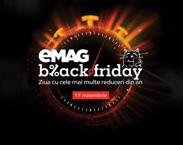 eMAG, Black Friday, 17 noiembrie