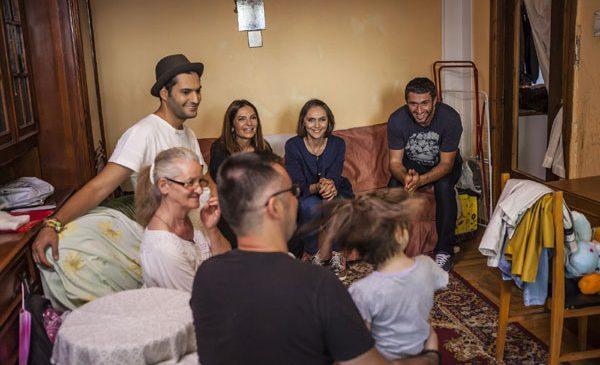 Echipa Visuri la cheie i-a oferit aseară un apartament de poveste familiei Cucu