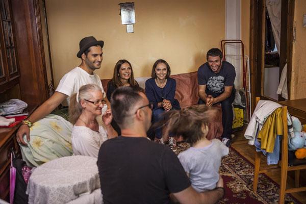 echipa Visuri la cheie si familia Cucu