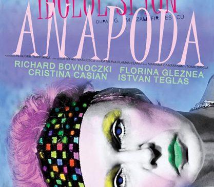 """Comedia romantică """"Idolul și Ion Anapoda"""", o nouă reprezentație pe 29 noiembrie, la Sala Mare, ARCUB"""