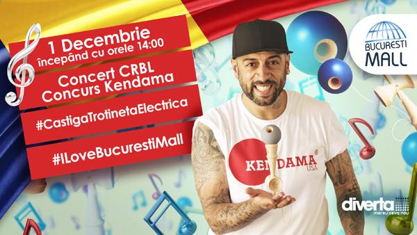 1 decembrie sărbătorit cu Kendama, la București Mall