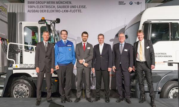 Camioane electrice pentru uzina BMW Group din München: 100% electric, curat şi silenţios