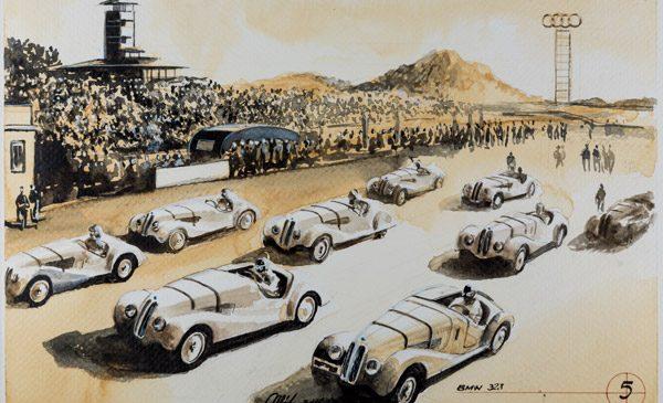 """Un an """"Blue Coffee"""", maratonul live de 101 picturi cu cafea dedicate 100 de ani istorie BMW – startul pentru un nou proiect"""