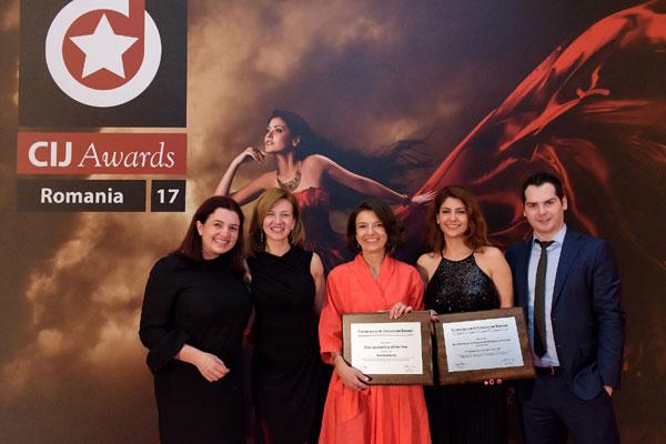 CTP castiga premiile Best Warehouse Development and Developer si Best Leadership in 2017