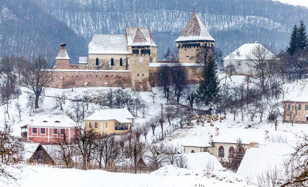 Colinele Transilvaniei, destinație pentru ecoturism de iarnă