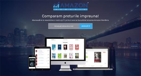 Prețurile a peste 1 milion de produse și servicii vor putea fi comparate pe Amazon-Romania.ro